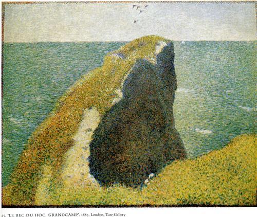 The Bec du Hoc, Grandcamp - Georges Seurat