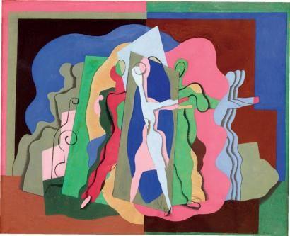 Le bal Musette, 1927 - Georges Valmier