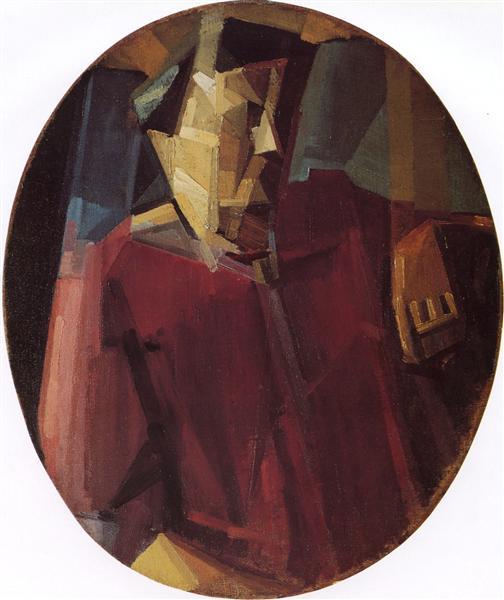 Portrait of the Artist's Mother, 1911 - Georges Valmier