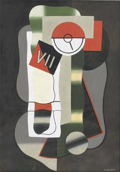 Time, 1929 - Georges Valmier