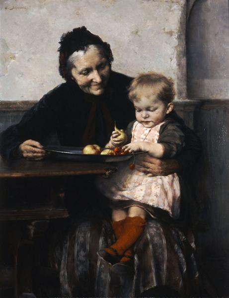 Grandma's Favourite, 1893 - Georgios Jakobides