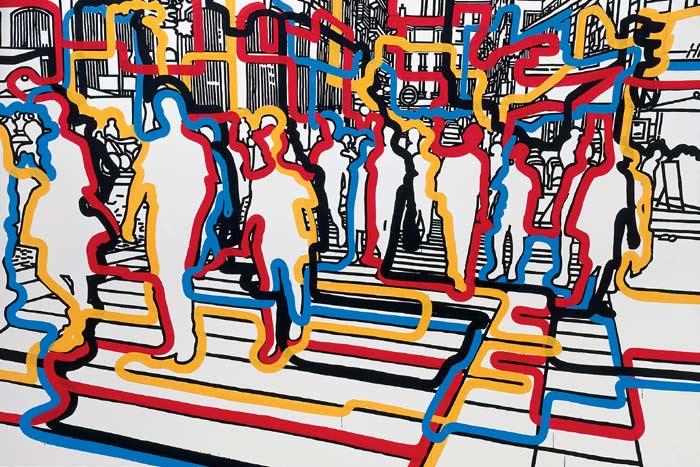 Bastille Flux, 2007 - Gerard Fromanger