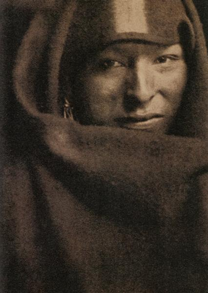 The Red Man - Gertrude Kasebier