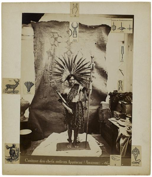 Costume des chefs indiens Appiacaz (Amazone), 1970 - Герасим Люка