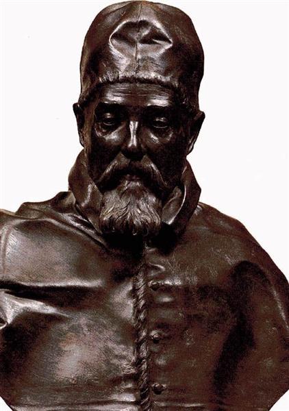 Bust of Pope Urban VIII, 1632 - 1633 - Gian Lorenzo Bernini