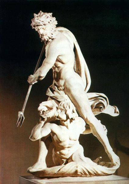 Neptune and Triton, 1620 - 1622 - Gian Lorenzo Bernini