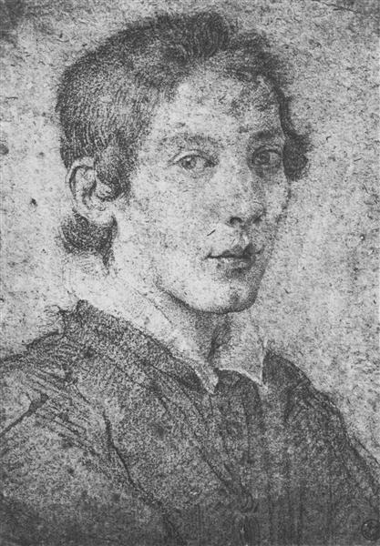 Portrait of a Young Man (Self-Portrait), c.1615 - Gian Lorenzo Bernini
