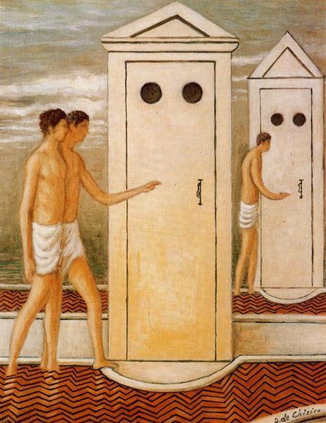 Booths - Giorgio de Chirico