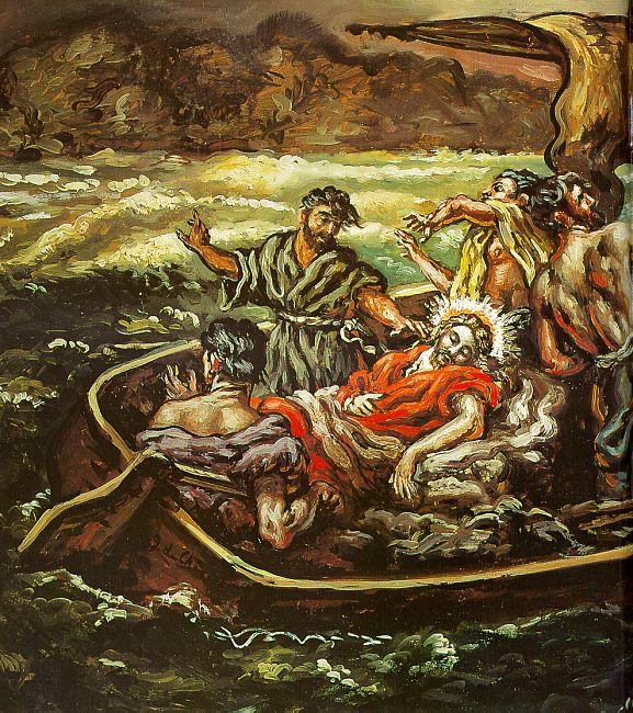 Молитва во время наводнения или морской бури