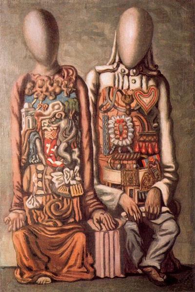 Colonial mannequins, 1943 - Giorgio de Chirico