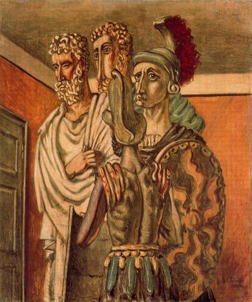 Gladiators, 1930 - Giorgio de Chirico
