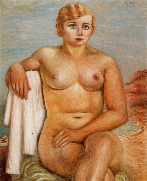 Nude Woman, 1922 - Giorgio de Chirico