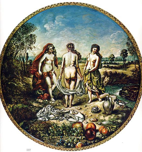 Nymphs - Giorgio de Chirico
