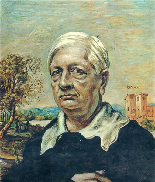 Self Portrait, c.1967 - Giorgio de Chirico