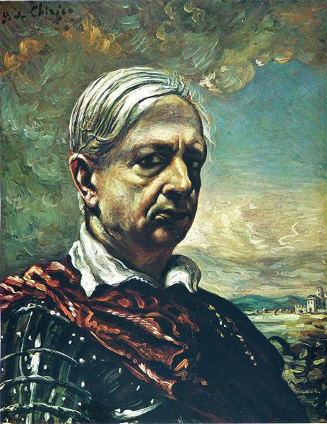 Self Portrait, c.1960 - Giorgio de Chirico