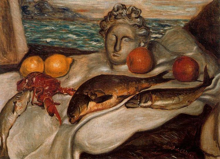 Still life, 1929 - Giorgio de Chirico