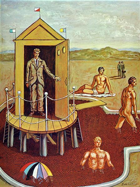 The Mysterious Bath, 1938 - Giorgio De Chirico