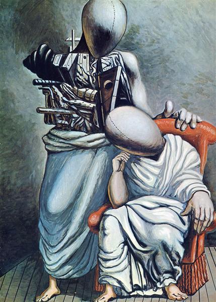 The one consolation, 1958 - Giorgio de Chirico