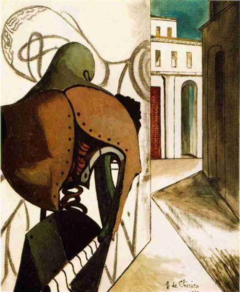 The Vexations of the Thinker, 1915 - Giorgio de Chirico