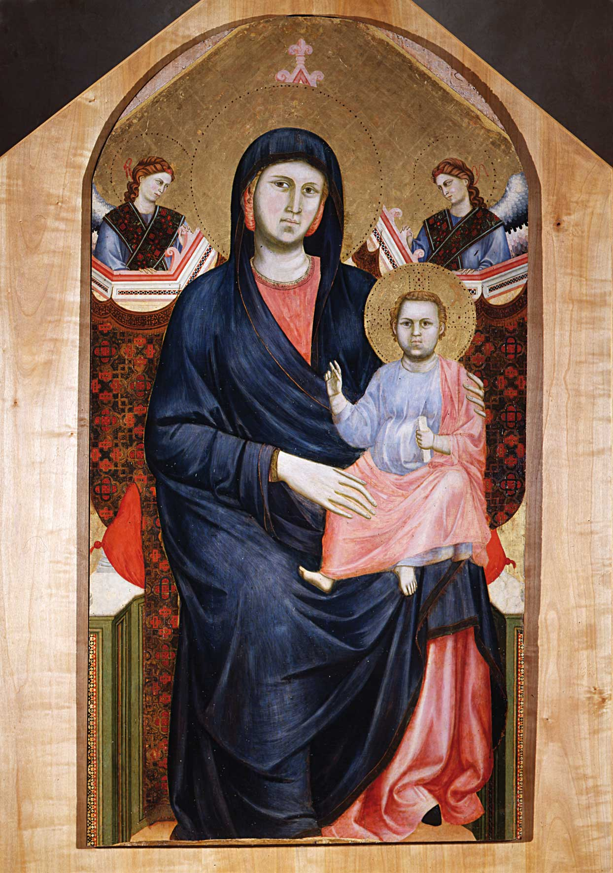 Madonna And Child Giotto