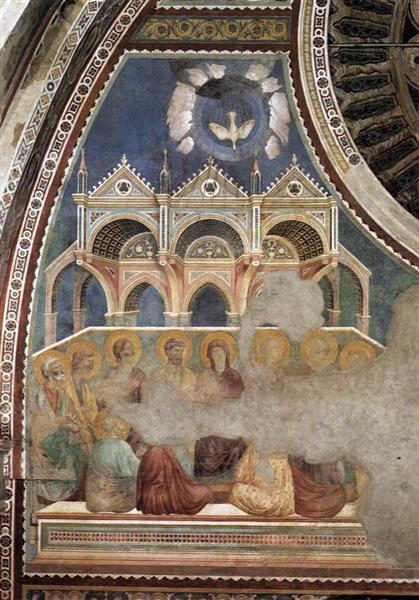 Pentecost, c.1290 - c.1299 - Giotto