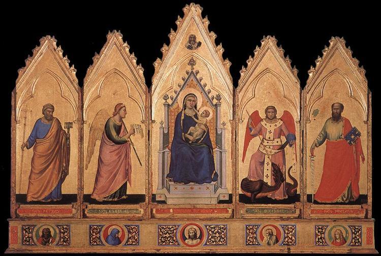 Polyptych, c.1330 - c.1335 - Giotto