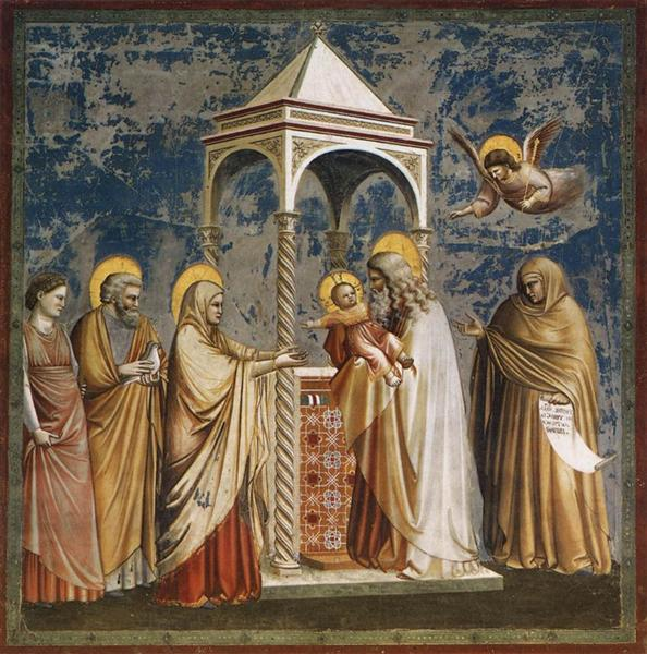 Presentation of Christ at the Temple, c.1304 - c.1306 - Giotto