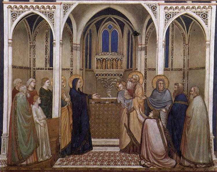 Presentation of Christ in the Temple, c.1311 - c.1320 - Giotto