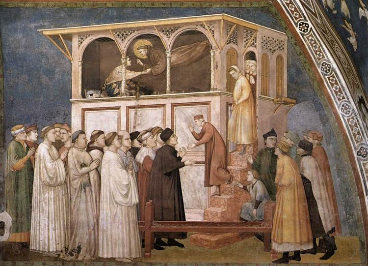 Raising of the Boy in Sessa, c.1311 - c.1320 - Giotto