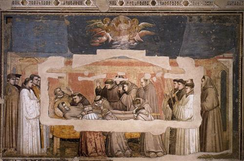 The Death of St. Francis - Giotto