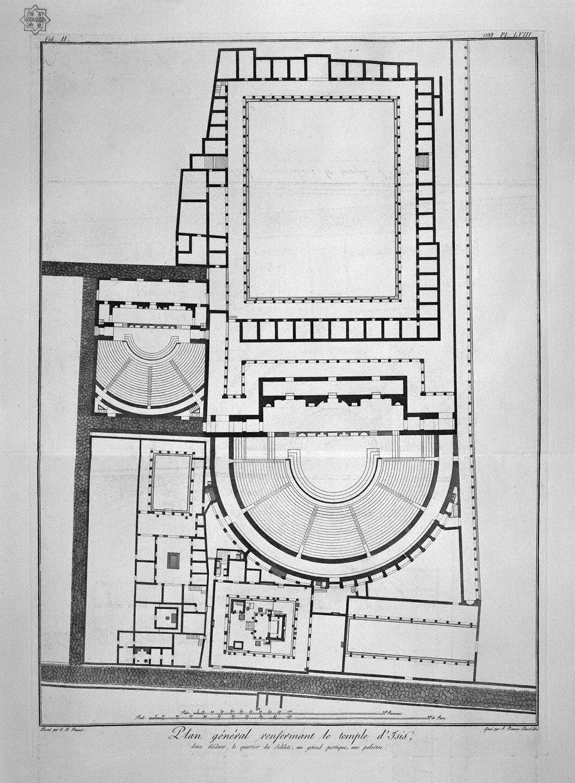 Piano prospettico del capitello all ingresso della casa for Piani della casa del barndominio