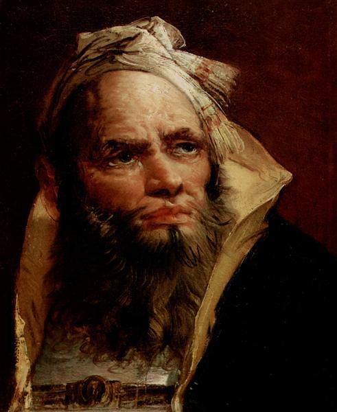 Head of a Philosopher, 1757 - Giovanni Battista Tiepolo