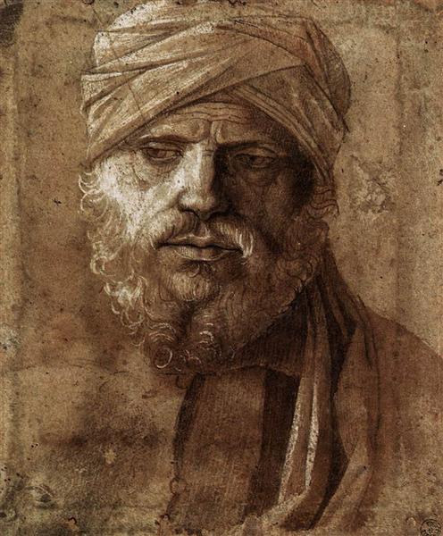 Man with a Turban, c.1490 - Giovanni Bellini