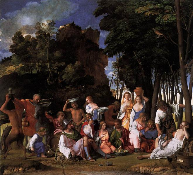 The Feast of the Gods, 1514 - 1516 - Giovanni Bellini