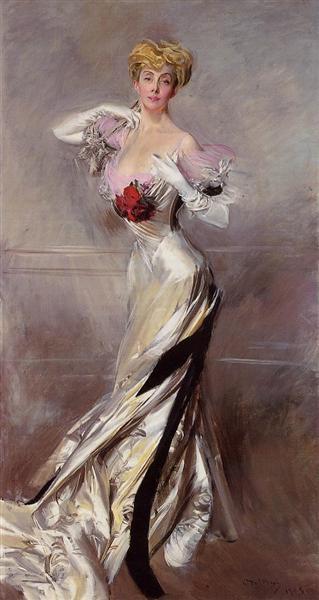 Portrait of the Countess Zichy, 1905 - Giovanni Boldini