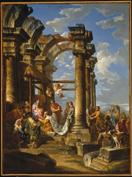 The Adoration of the Magi, 1757 - Giovanni Paolo Panini