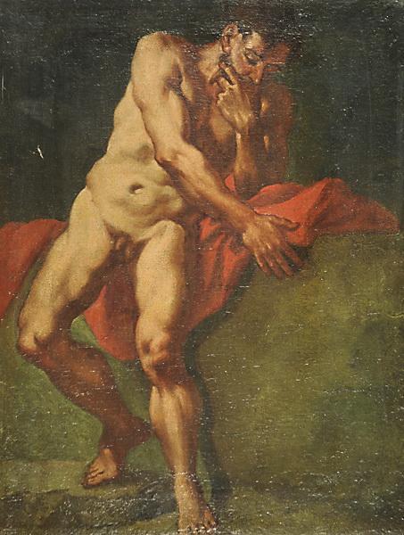 Nudo maschile - Giulia Lama