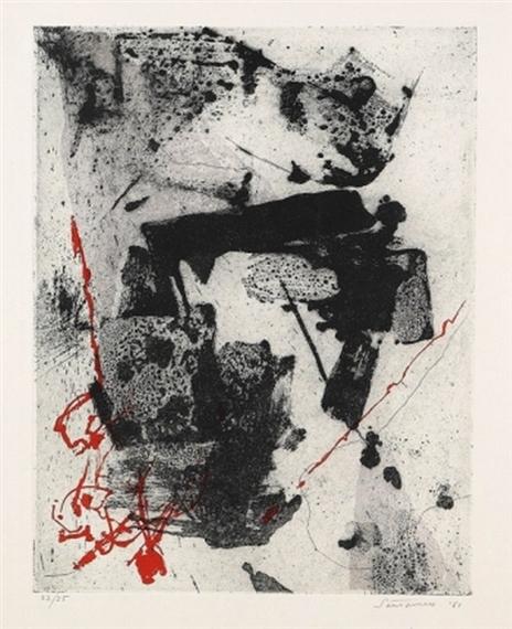 Komposition, 1961 - Giuseppe Santomaso