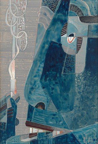 Blue head, 1951 - Gosta Adrian-Nilsson