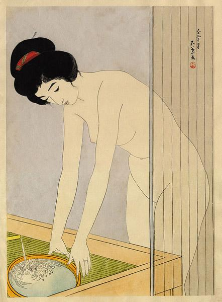 Woman Washing Her Face, 1920 - Goyo Hashiguchi