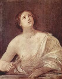 Suicide of Lucretia - Guido Reni