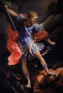The Archangel Michael defeating Satan - Guido Reni