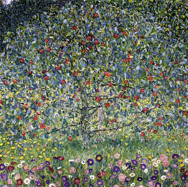 Apple Tree, I, c.1912 - Gustav Klimt
