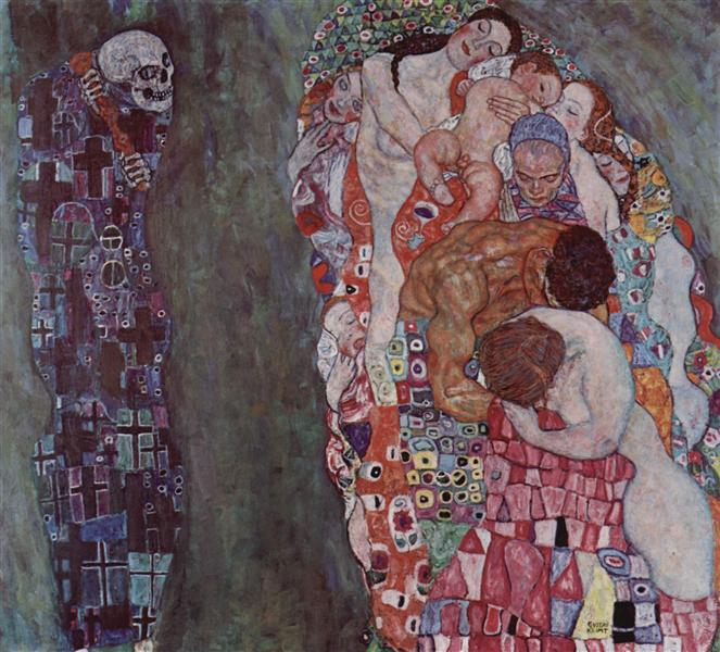 Death and Life, 1908 - 1916 - Gustav Klimt