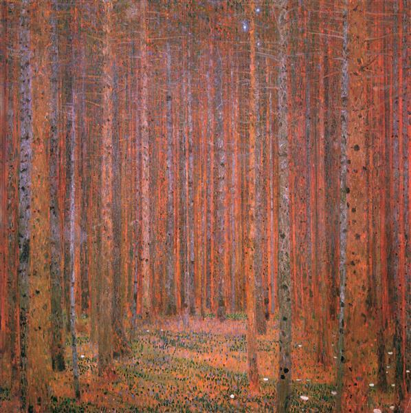 Fir Forest I, 1901 - Gustav Klimt