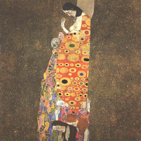 Hope II, 1907 - 1908 - Gustav Klimt