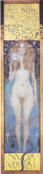 Nuda Veritas, 1899 - Gustav Klimt