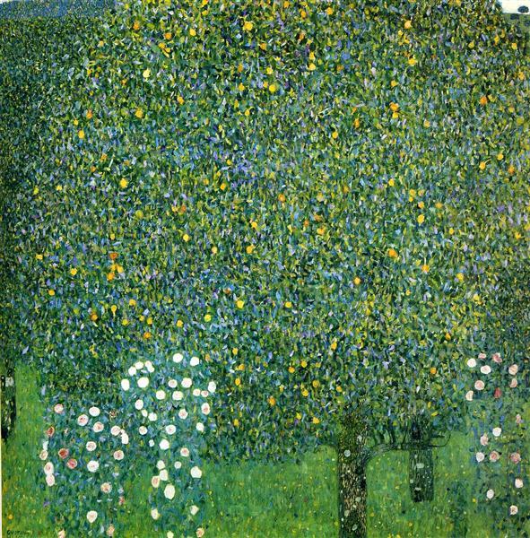 Roses under the Trees, c.1905 - Gustav Klimt
