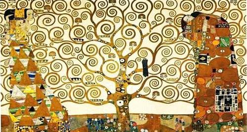 The Tree of Life by Gustav Klimt, 1909 (via Wikipaintings)