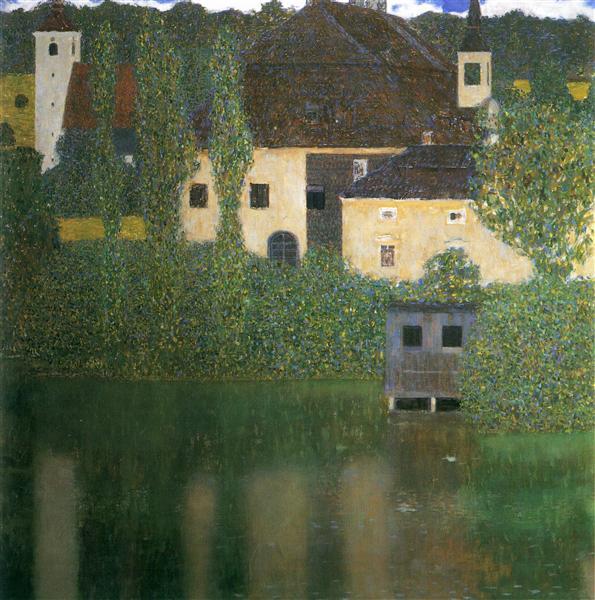 Water Castle, 1908 - Густав Клімт